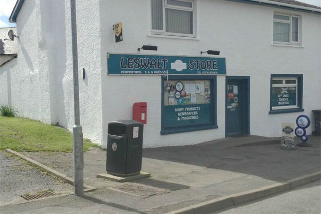 Commercial property for sale in Leswalt Store, Leswalt, Nr Stranraer, Dumfries And Galloway