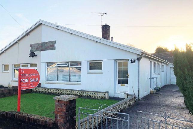 Semi-detached bungalow for sale in Castle View, Bridgend, Bridgend County.