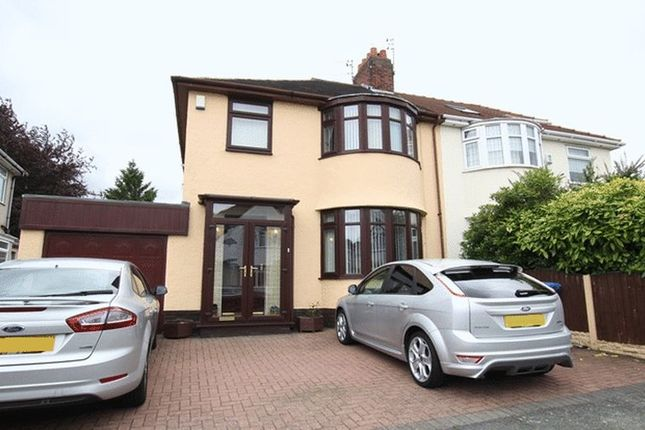 Thumbnail Semi-detached house for sale in Childwall Mount Road, Childwall, Liverpool