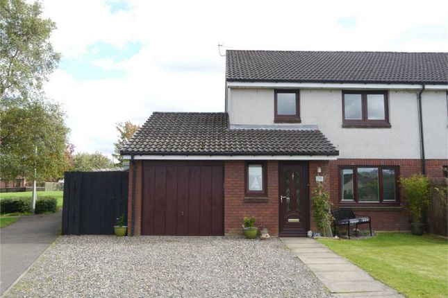 Thumbnail Semi-detached house for sale in 30 Morlich Place, Kinross, Kinross-Shire