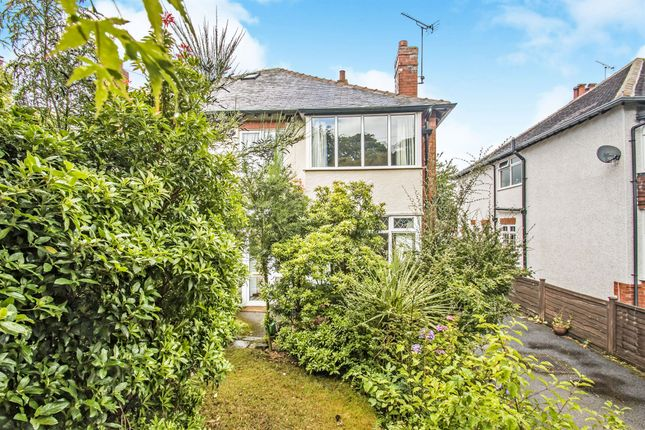 Thumbnail Semi Detached House For Sale In North Park Avenue Roundhay Leeds