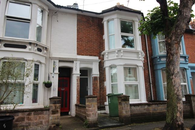 Thumbnail Terraced house to rent in Gains Road, Southsea