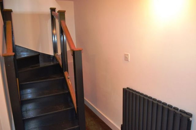Stairs of Dunster Street, The Mounts, Northampton NN1