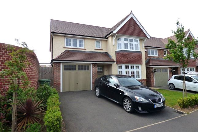 Thumbnail Detached house to rent in Bronze Road, Cawston, Rugby