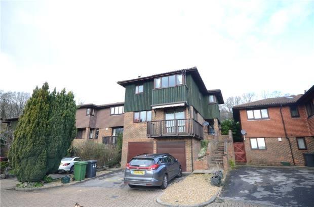 Thumbnail Detached house for sale in Marshcourt, Lychpit, Basingstoke