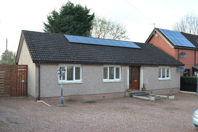 Thumbnail Bungalow for sale in Glasgow Road, Denny