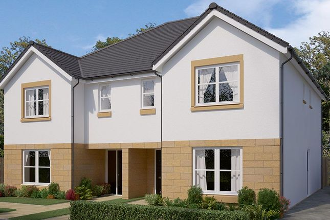 "Thumbnail Semi-detached house for sale in ""The Glastonbury"" at Bowmont Terrace, Dunbar"