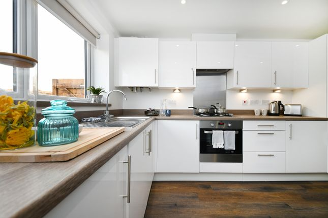Thumbnail Terraced house for sale in Southern Cross, Wixams, Wilstead, Bedford