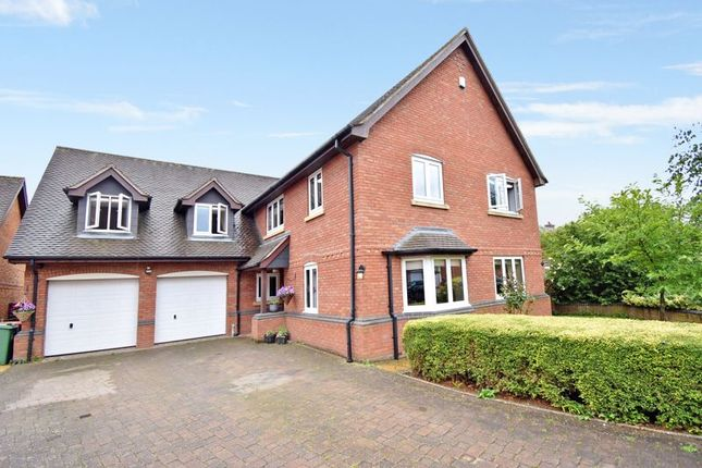 Thumbnail Detached house for sale in Addisons Way, Lilleshall, Newport
