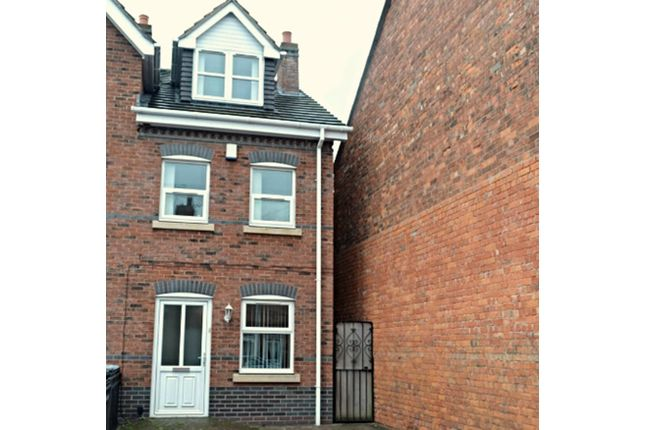 Thumbnail Terraced house for sale in Chambers Street, Crewe