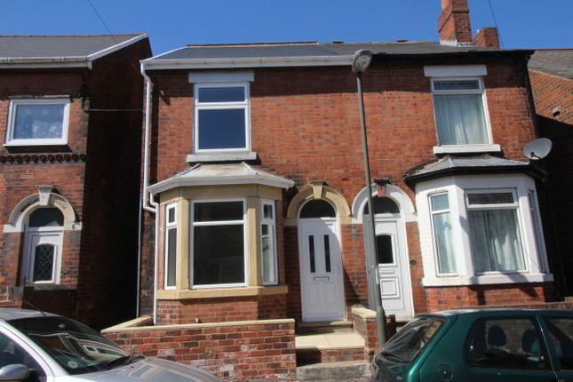 Thumbnail Semi-detached house for sale in Hunloke Avenue, Holmewood, Chesterfield