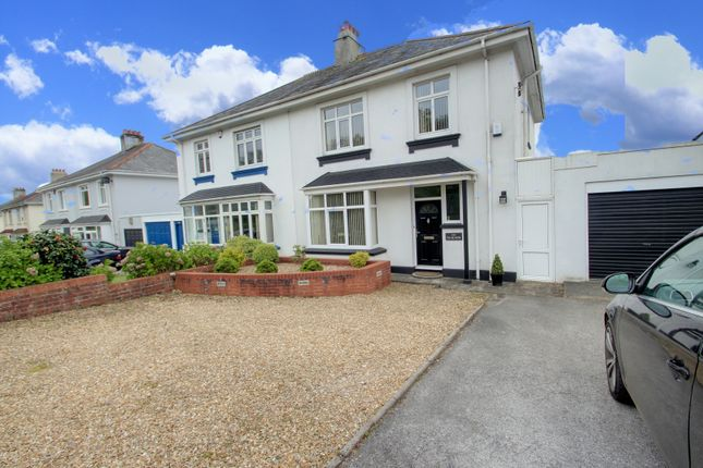 Thumbnail Semi-detached house for sale in Alma Road, Plymouth