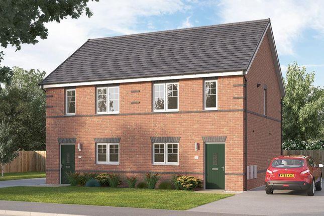 "Thumbnail End terrace house for sale in ""The Fenbridge"" at Alfreton Road, South Normanton, Alfreton"