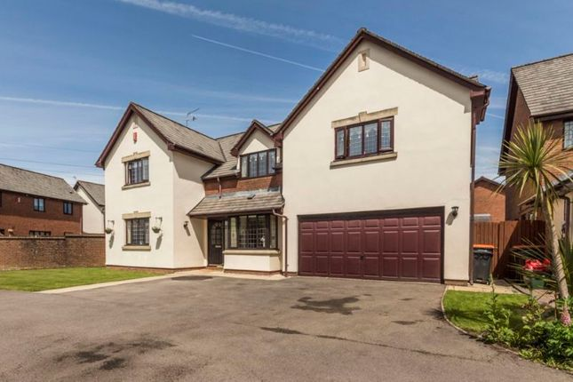 Thumbnail Detached house for sale in East Lynne Gardens, Caerleon, Newport