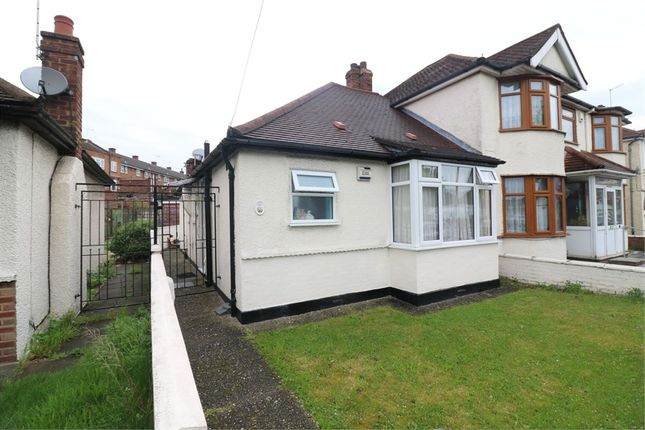 Thumbnail Semi-detached bungalow for sale in Abbey Road, Waltham Cross, Hertfordshire