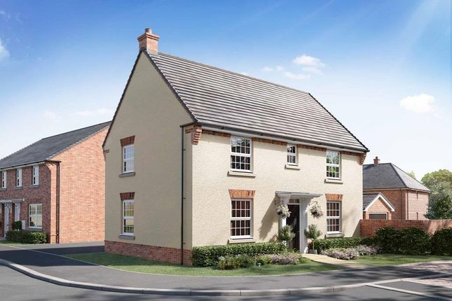 "Thumbnail Detached house for sale in ""Hadley"" at Briggington, Leighton Buzzard"