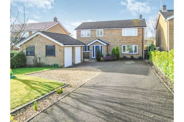 Thumbnail Detached house for sale in Berry Lane, Wootton Village, Northampton