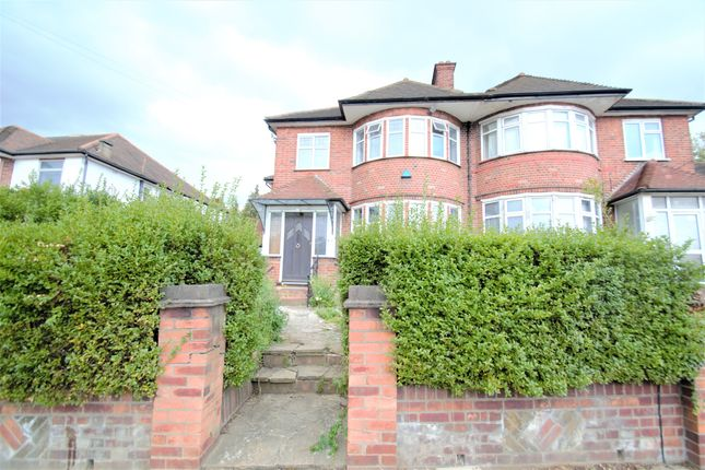 Thumbnail Semi-detached house to rent in Southbourne Crescent, London