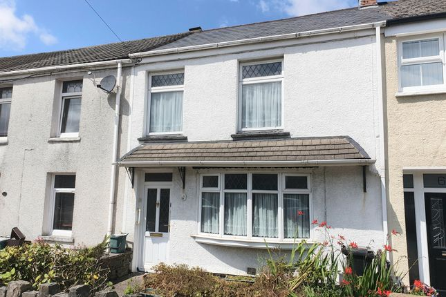 Thumbnail Terraced house for sale in Henfaes Road, Tonna, Neath