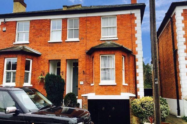 Thumbnail Semi-detached house for sale in Ladbroke Road, Epsom, Surrey