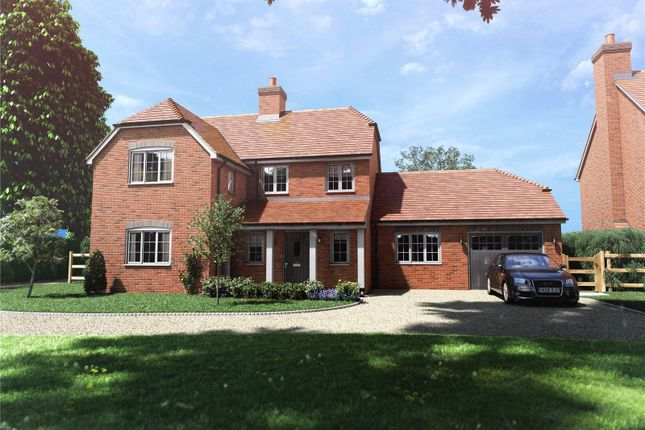 Thumbnail Detached house for sale in Bagmore Lane, Herriard, Hampshire