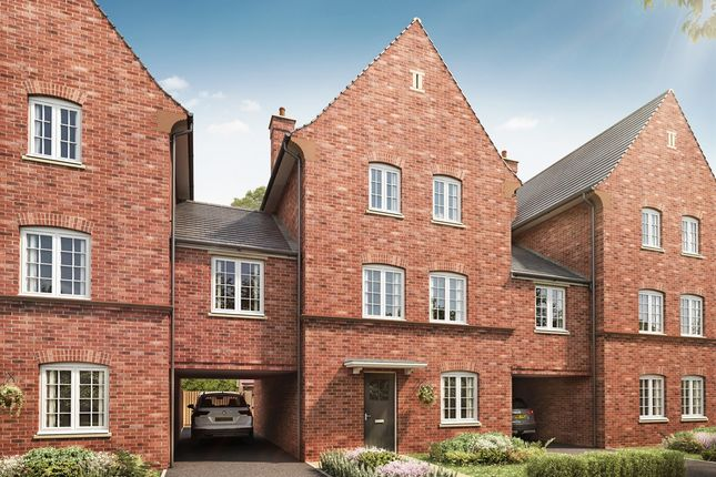 "Thumbnail Town house for sale in ""The Clipstone"" at Kiln Drive, Stewartby, Bedford"