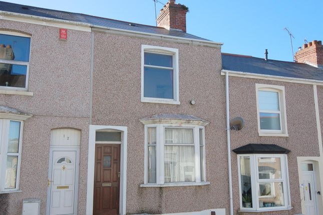 Thumbnail Terraced house for sale in Glenmore Avenue, Plymouth