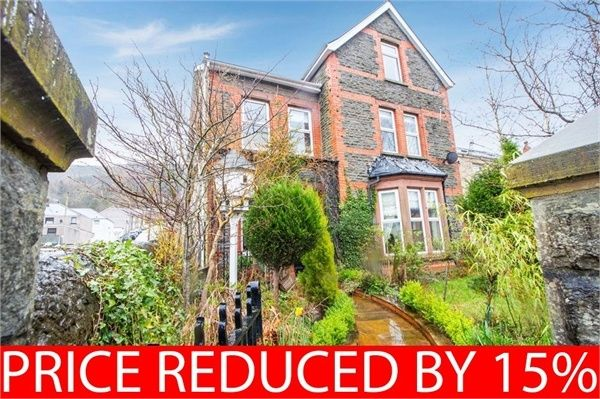 Thumbnail End terrace house for sale in Bute Street, Treherbert, Treorchy, Mid Glamorgan