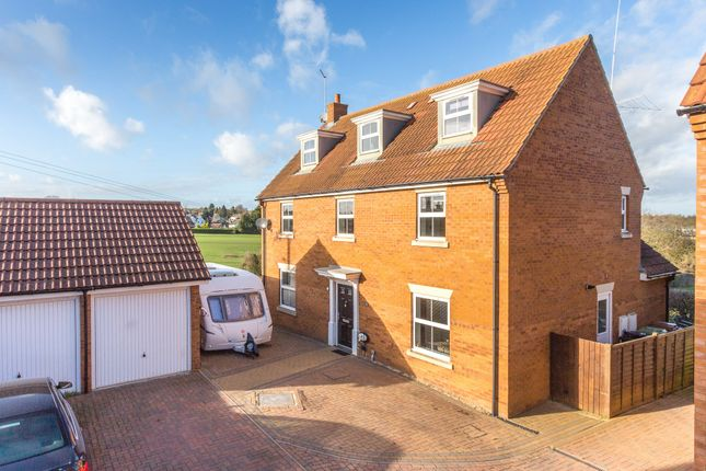 Thumbnail Detached house for sale in Biscay Close, Irchester, Wellingborough