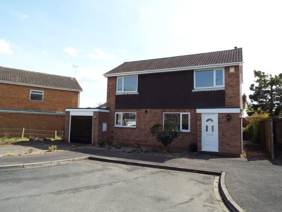 Thumbnail Detached house for sale in Westward Close, Uttoxeter, Staffordshire