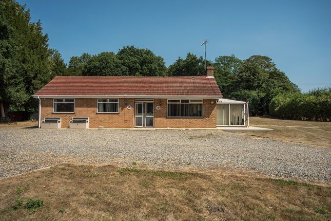 Thumbnail Detached bungalow for sale in Manor Road, Garboldisham, Diss