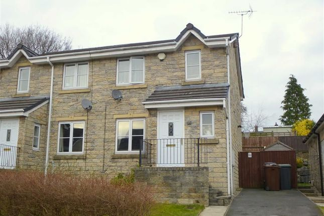 Thumbnail Semi-detached house to rent in Overdale Drive, Glossop, Derbyshire