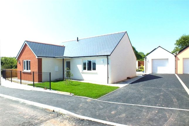 Thumbnail Detached bungalow for sale in Plot 17, Bowett Close, Hundleton, Pembroke