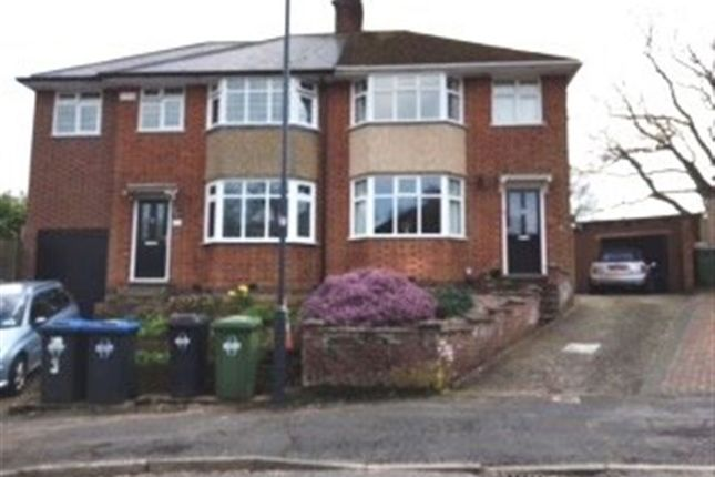 Thumbnail Semi-detached house to rent in Wheatfield Road, Rugby, Warwickshire