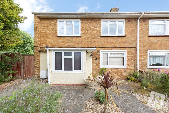 Thumbnail End terrace house for sale in Kathleen Ferrier Crescent, Basildon, Essex