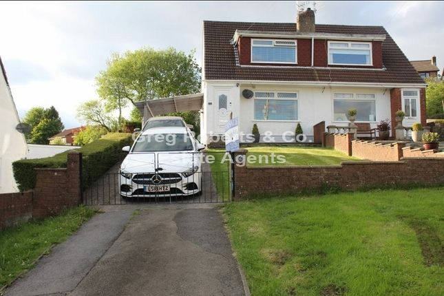 Thumbnail Semi-detached house for sale in Glanrhyd Close, Tredegar