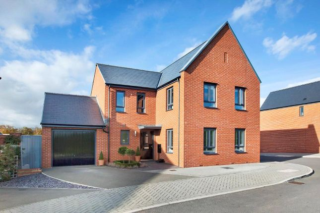 Thumbnail Detached house for sale in Milbury Farm Meadow, Exminster, Exeter