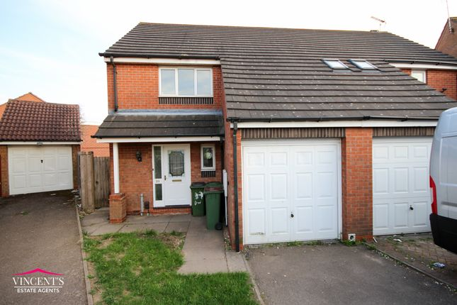 Thumbnail Semi-detached house for sale in Darien Way, Thorpe Astley