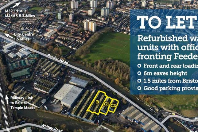 Thumbnail Industrial to let in Unit C1, St Vincents Trading Estate, Bristol