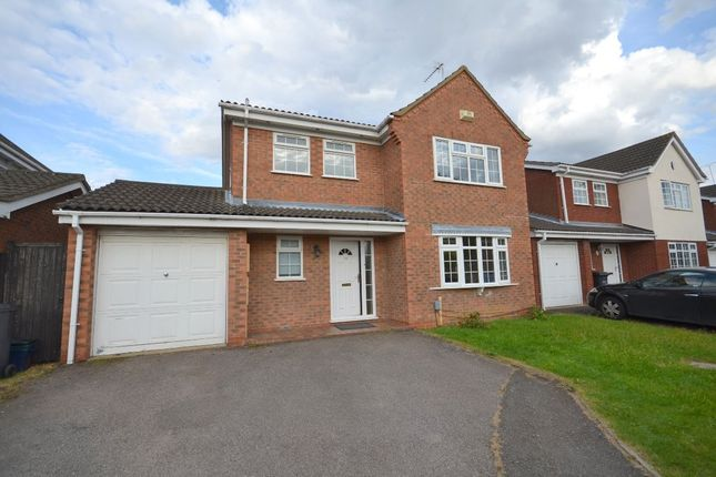 Thumbnail Detached house to rent in Hodnet Close, Northampton