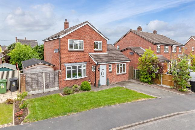 Thumbnail Detached house for sale in Prescott Fields, Baschurch, Shrewsbury