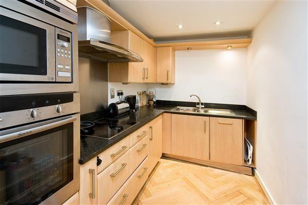Kitchen of Burwood Place, London W2