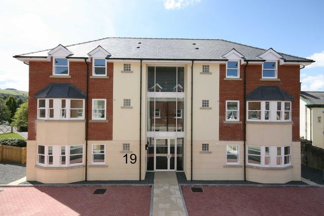 Thumbnail Flat for sale in Valentine Court, Llanidloes, Powys
