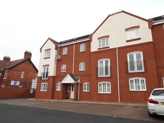 Thumbnail Flat for sale in Penkridge Court, New Penkridge Road, Cannock, Staffordshire