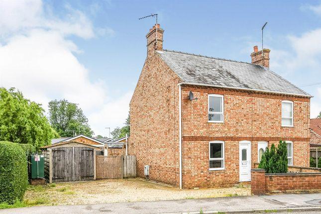Thumbnail Semi-detached house for sale in Sutton Road, Terrington St. Clement, King's Lynn