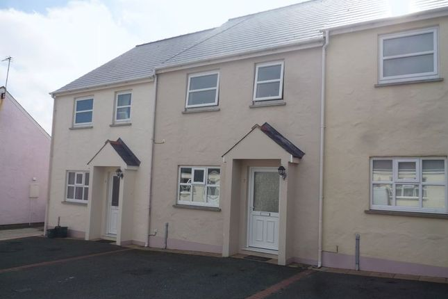 Thumbnail Terraced house to rent in Cae Gerddi, Stop And Call, Goodwick