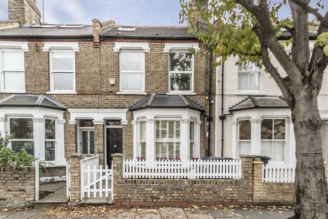 Thumbnail Terraced house to rent in Somerset Road, London