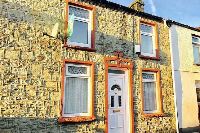Thumbnail Terraced house to rent in Nightingale Street, Abercanaid, Merthyr Tydfil
