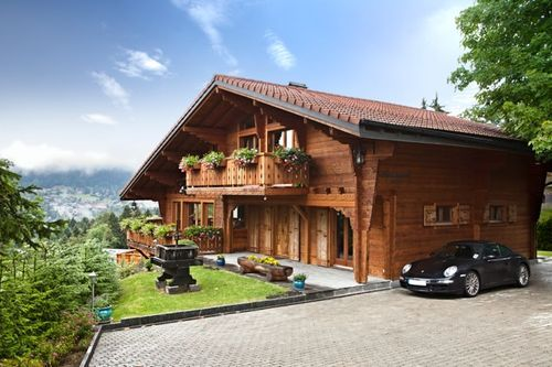 Villars - Luxury 5 Bedroom Chalet, Switzerland