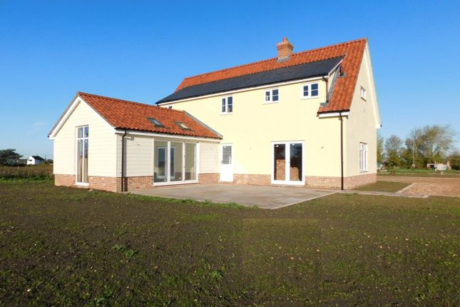 Thumbnail Detached house for sale in Moats Tye, Combs, Stowmarket